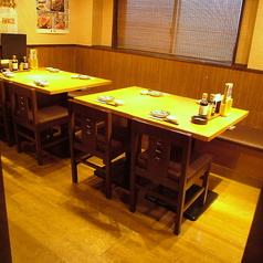 2名様~4名様までご利用いただけるテーブル席も各種ご用意しています☆ ※画像は系列店