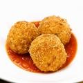 料理メニュー写真マスカルポーネとレモンのアランチーニ