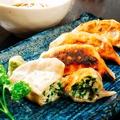 料理メニュー写真【定番】そば餃子×一番搾りセット