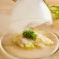 料理メニュー写真瞬間燻製カルパッチョ