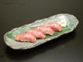 料理メニュー写真黒毛和牛寿司