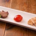 料理メニュー写真3種の味噌漬け盛り合わせ