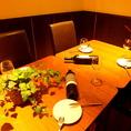 完全個室のお席は8名様までOK!