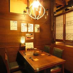 【落ち着いた店内でゆったりお食事を】大船駅1分なので、お仕事終わりのちょっとした飲み会や女子会にも使い勝手抜群の居酒屋です。