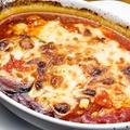 料理メニュー写真茄子とモッツァレラのオーブン焼