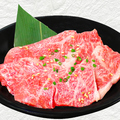 料理メニュー写真<国産牛> 上カルビ (タレ・塩)