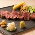 料理メニュー写真和牛シャトーブリアン炙り(数量限定)