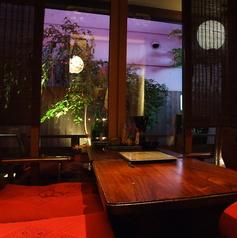 龍の間(女性におすすめ!)個室となっております。オシャレな雰囲気の中で旬の食材をお愉しみ下さい。