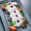 料理メニュー写真生蛸の梅パッチョ