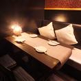 ◆4~6名様用テーブル◆2次会やサク飲みに最適のテーブル席は靴を脱がずにそのままOKですので、軽くお食事をご希望のお客様にもご利用して頂きやすい席となっております。