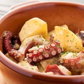 料理メニュー写真蛸とジャガイモの和ヒージョ