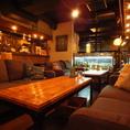 人気のソファ席が多数♪混み合いますので、お早目のご予約がおすすめです!