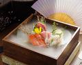 料理メニュー写真旬魚の玉手箱(しゅんぎょのたまてばこ)