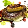 料理メニュー写真牛フィレ肉とフォアグラのロッシーニ風