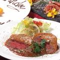 料理メニュー写真牛ヘレ肉のレアカツ