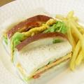 料理メニュー写真卵サンドウィッチ