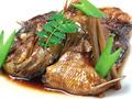 料理メニュー写真鯛のあら煮定食