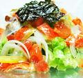 料理メニュー写真コラーゲンチョレギサラダ