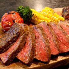 料理メニュー写真和牛ランプステーキ