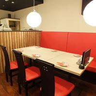 [川崎駅直結]テーブル席やお座敷など様々なお席をご用意