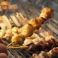 ◆山梨県産朝〆健味どり串焼◆
