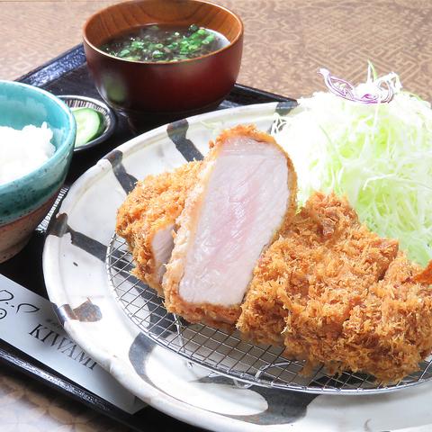 北海道の大自然で飼育された日高四元『神威豚』が楽しめる「豚肉料理専門店」