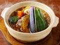 料理メニュー写真秘伝の赤ワインソース煮込みハンバーグ セット(ご飯・サラダ付き)