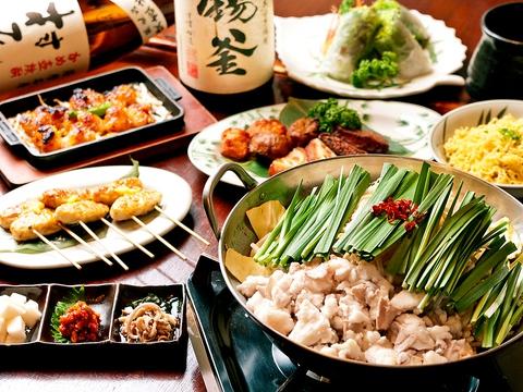 博多で20余年愛された名店の味を継承した龍「秘伝のたれ」。これぞ究極のもつ鍋…