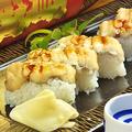 料理メニュー写真穴子押し寿司