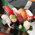 料理メニュー写真こだわり寿司七貫盛り