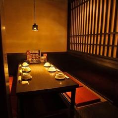 個室でゆったりといただく和のひと皿。 接待や会食などにもご利用いただいております。