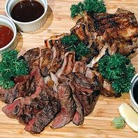 お肉を楽しむ!