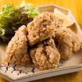 料理メニュー写真地鶏の竜田揚げ