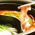 二色鍋で色んな味を…★