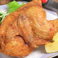 料理メニュー写真ひな鶏の素揚げ 1/2羽