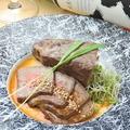 料理メニュー写真ローストビーフの味噌漬け