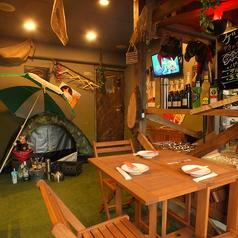 居酒屋 くれいGにんにく 町田ガーデン キャンプ場ダイニングの雰囲気1