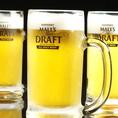 串焼きとビールの相性は抜群です!