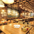 広々とした店内はシックな雰囲気で落ち着く空間になっております♪普段はカフェですが大人数でしたらパーティーや、ウェディング二次会のご利用にも最適です!!◇ご相談はお気軽にスタッフまでお申し付けください。