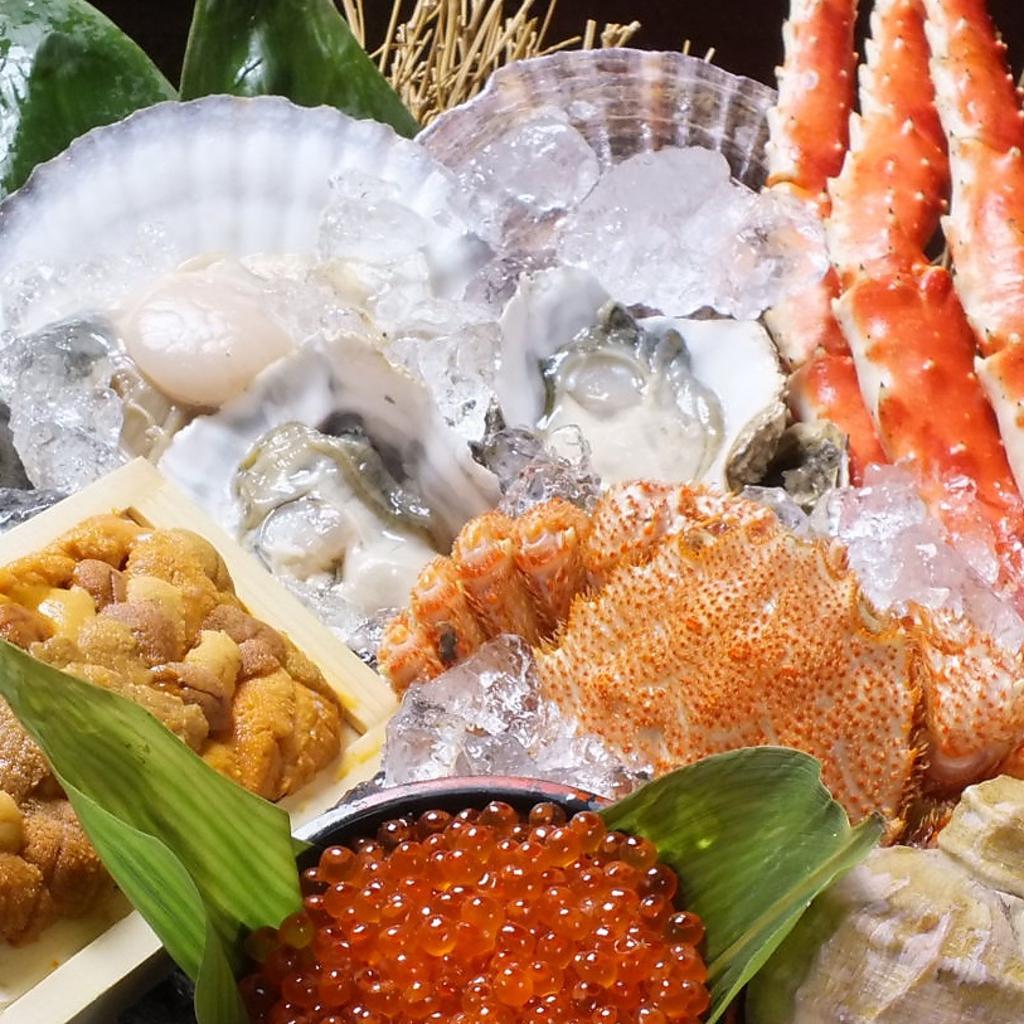 毎朝、小樽や全道各地で獲れた新鮮な魚介をお店まで直送!!その日に食べられるので旨さピカイチ☆