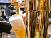 【お酒のこだわり】サーバーからついだキンキンに冷えたビールをご提供致します