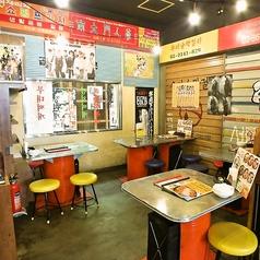 まるで韓国の屋台にいるような非日常空間をご提供!贅沢なランチやお昼宴会にもおすすめです!みんなで美味しいお肉を焼きながら盛り上がれること間違いなし!ゆったり座れるテーブル席で楽しいひと時をお過ごしください♪