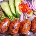 調味料や食材は、基本的にタイからの輸入食材。