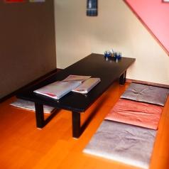 4~6名様のお座敷席です。※テーブルの移動・連結が可能ですので、大人数宴会もOKです。