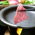 料理メニュー写真村上牛の陶板焼き