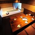 ≪6名様の個室席≫当店は珍しい足湯のご用意もございます。多治見駅近で会社帰りに仕事の疲れを沖縄・九州の郷土料理にこだわりの銘酒で癒していただけます!もちろん大人数様用の宴会個室もご用意致しております。掘りごたつ席で足を伸ばしゆったりとお寛ぎいただけます≪多治見 居酒屋 デート 個室 宴会 女子会 飲み放題≫