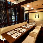 店内の入口からも近い窓際のテーブル個室は女子会や会社宴会などにピッタリです!