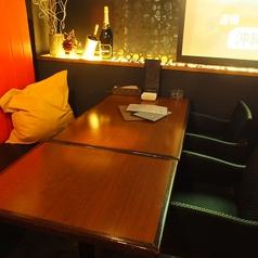 2名様テーブル【テーブル2~10名様】※雰囲気が抜群の2名席になりますので、ぜひカップルでご利用ください★