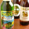 タイビール等、アジアの瓶ビールが増加中!!