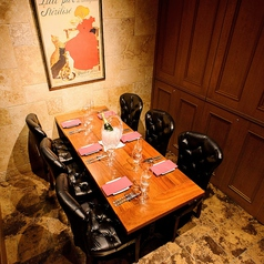 当店自慢の完全個室!!とっても可愛い西洋風の個室なので、コンパや特別なサプライズパーティーにもオススメ♪